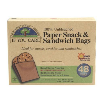 Uzkodu un sviestmaižu maisiņi, If You Care  Snack and Sandwich Bags 48 gab.